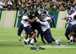 88 - USF vs. UConn 2018 - USF RB Johnny Ford by Will Turner | SoFloBulls.com (3665x2615) - 0H8A8651