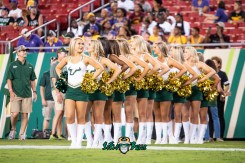 9 - USF vs. ECU 2018 - USF Cheerleaders by Dennis Akers | SoFloBulls.com (4227x2822)