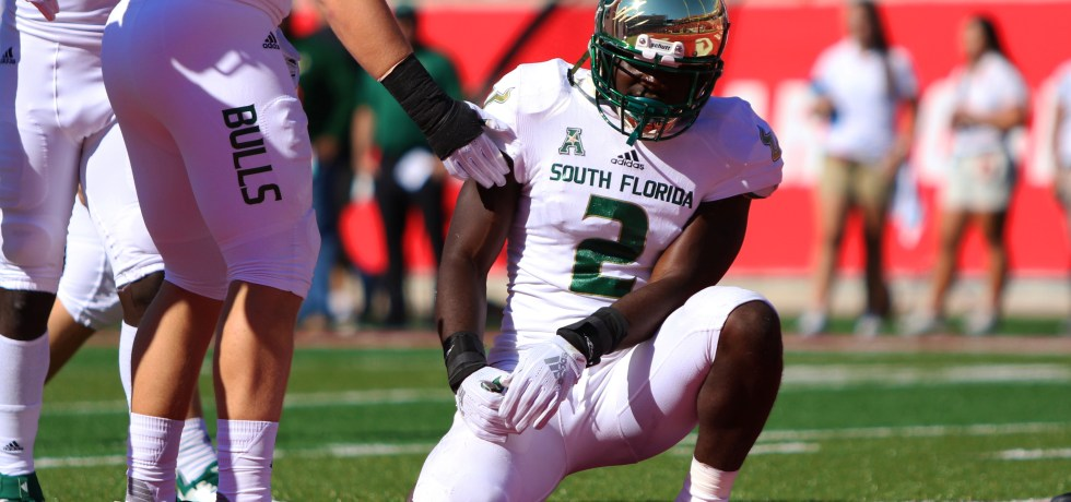 South Florida LB Khalid McGee vs. Houston 2018 by Will Turner - SoFloBulls.com (4353x2928)