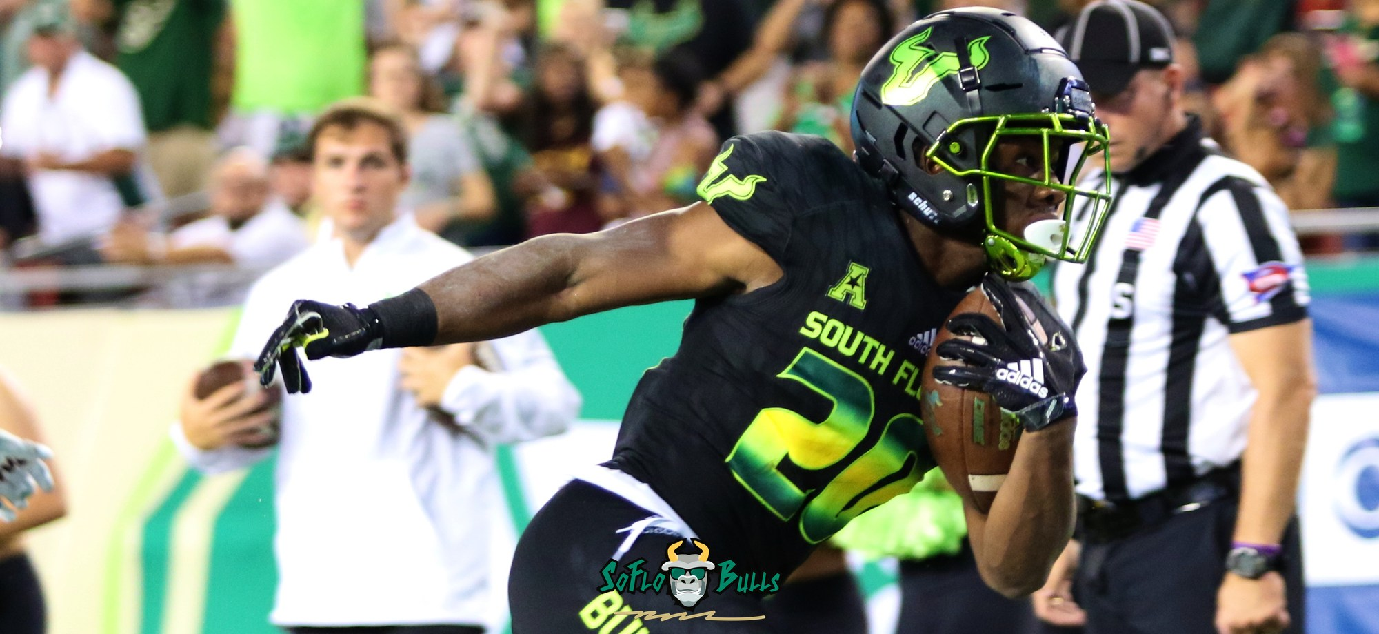 USF Drops Blackout Uniforms in Homecoming Win Over UConn by Matthew Manuri - SoFloBulls.com (2400x920)