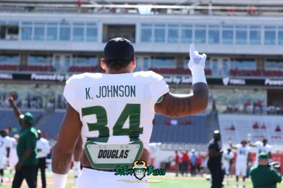 23 - USF vs. Houston 2018 - USF LB Keirston Johnson by Will Turner | SoFloBulls.com (5472x3648) - 0H8A9361
