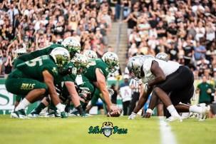 52 - UCF vs. USF 2018 - USF OL vs. UCF DL by Dennis Akers | SoFloBulls.com