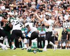 54 - UCF vs. USF 2018 - UCF QB McKenzie Milton by Dennis Akers | SoFloBulls.com