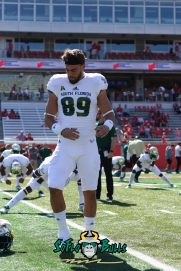61 - USF vs. Houston 2018 - USF TE Mitchell Wilcox by Will Turner | SoFloBulls.com (3648x5472) - 0H8A9454
