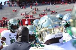 62 - USF vs. Houston 2018 - USF Football Team on field Pre-GameTDECU Stadium TE Chris Carter by Will Turner | SoFloBulls.com (5472x3648) - 0H8A9457
