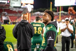 122 - Marshall vs. USF 2018 - USF WR Zion Roland by Dennis Akers | SoFloBulls.com