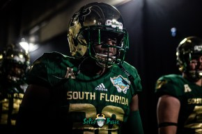 2 - Marshall vs. USF 2018 - USF DB Jeffery Farrar by Dennis Akers | SoFloBulls.com