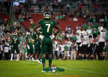22 - Marshall vs. USF 2018 - USF DB Mike Hampton by Dennis Akers | SoFloBulls.com
