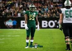 29 - Marshall vs. USF 2018 - USF LB Josh Black by Dennis Akers | SoFloBulls.com