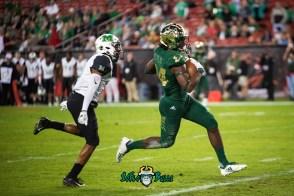 36 - Marshall vs. USF 2018 - USF WR Randall St. Felix by Dennis Akers | SoFloBulls.com