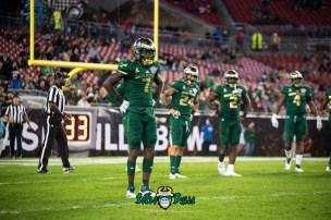 40 - Marshall vs. USF 2018 - USF DB Mike Hampton by Dennis Akers | SoFloBulls.com
