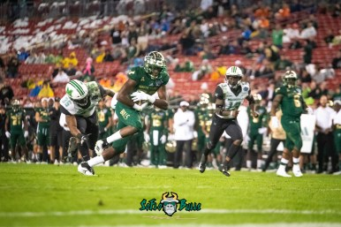 99 - Marshall vs. USF 2018 - USF WR Stanley Clerveaux by Dennis Akers | SoFloBulls.com