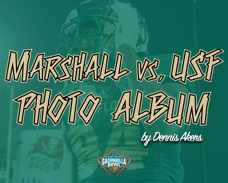 📌 Click Here for the Full Marshall vs. USF 2018 Bad Boy Mowers Gasparilla Bowl photo album