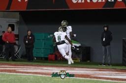 15A – USF vs. Cincinnati 2018 – USF WR Ryeshene Bronson Tyre McCants by Will Turner – SoFloBulls.com – 0H8A0995