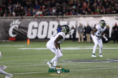 31 – USF vs. Cincinnati 2018 – USF DB Ronnie Hoggins by Will Turner – SoFloBulls.com – 0H8A1025