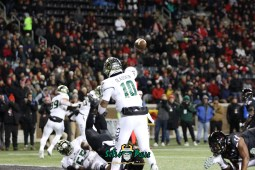 39 – USF vs. Cincinnati 2018 – USF QB Chris Oladokun by Will Turner – SoFloBulls.com – 0H8A1040