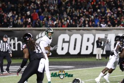 65 – USF vs. Cincinnati 2018 – USF QB Chris Oladokun by Will Turner – SoFloBulls.com – 0H8A1134