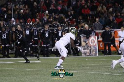 76 – USF vs. Cincinnati 2018 – USF LB Greg Reaves by Will Turner – SoFloBulls.com – 0H8A1168