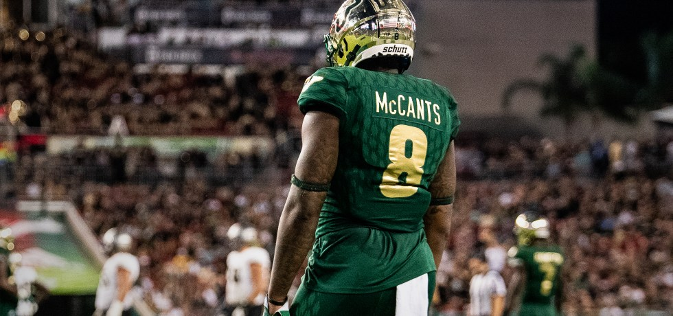 #Ocho USF WR Tyre McCants Highlights 2018 by Matthew Manuri | SoFloBulls.com