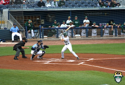 6 - South Florida Bulls vs. Tampa Bay Rays Baseball 2019 - C Tyler Dietrich by Tim O'Brien | SoFloBulls.com (2413x1630)