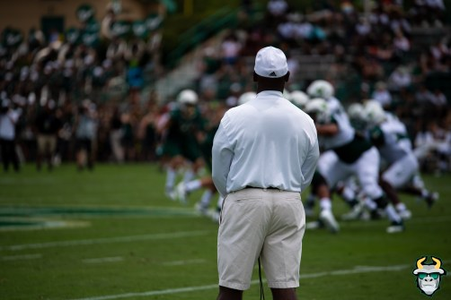 100 - USF Head Coach Charlie Strong Spring Game 2019 by Matthew Manuri 1374 (5411x3612)