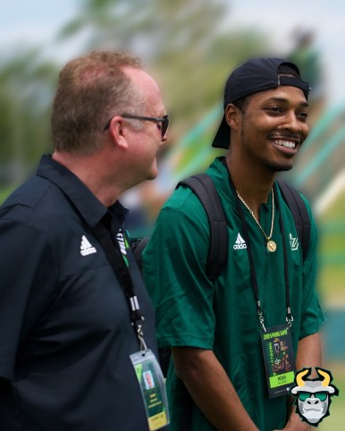 107 - SoFloBulls.com Kevin Johnson with USF AD Mike Kelly Spring Game 2019 by Matthew Manuri 1390 IG (1200x1500)
