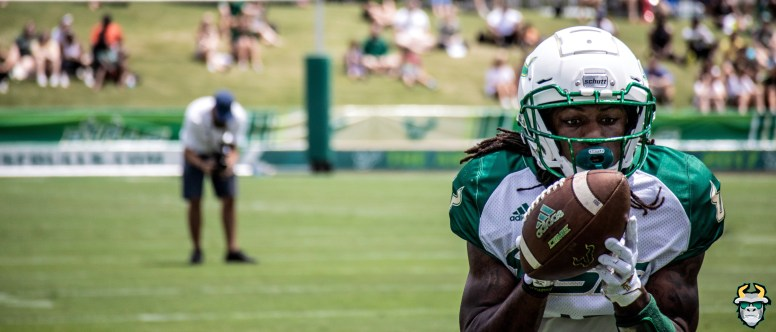 38 - USF WR Jernard Phillips Spring Game 2019 by David Gold 0660 (5999x2571)