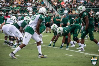 68 - USF WR DeVontres Dukes Dwayne Boyles Spring Game 2019 by David Gold 0971 (6000x4000)