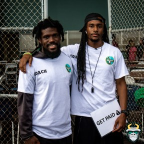 11 - 2019 Believe In Me Foundation Football Camp - Deatrick Nichols and Dez Horne