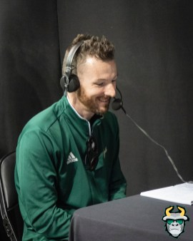21 - USF Senior Writer Tom Zebold at Fan Fest 2019 by David Gold DRG02936