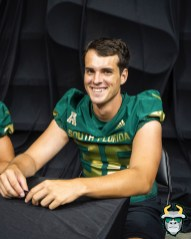 40 - USF WR Tyler Schlegel 2019 by David Gold DRG03253
