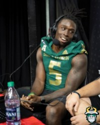 71 - USF WR Randall St. Felix Fan Fest 2019 by David Gold DRG03752