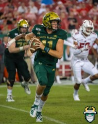 122 - Wisconsin vs USF 2019 - USF QB Blake Barnett by David Gold - DRG06740