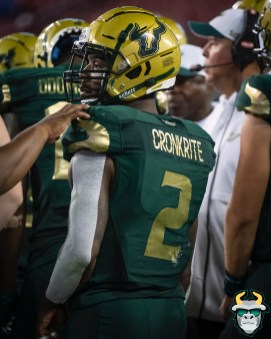 125 - Wisconsin vs USF 2019 - USF RB Jordan Cronkrite by David Gold - DRG06851
