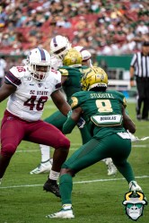 31 - USF vs S.C. State 2019 - Devin Studstill by David Gold - DRG00026