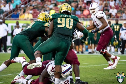 54 - USF vs S.C. State 2019 - Kevin Kegler by David Gold DRG00444