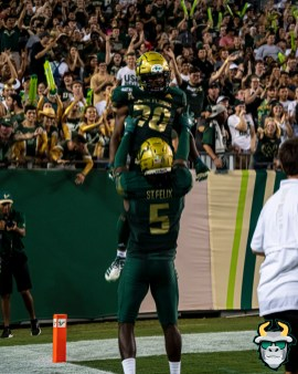 73 - USF vs S.C. State 2019 - Johnny Ford Randall St.Felix by David Gold DRG00913
