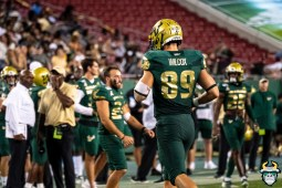 91 - USF vs S.C. State 2019 - Mitchell Wilcox by David Gold DRG01406