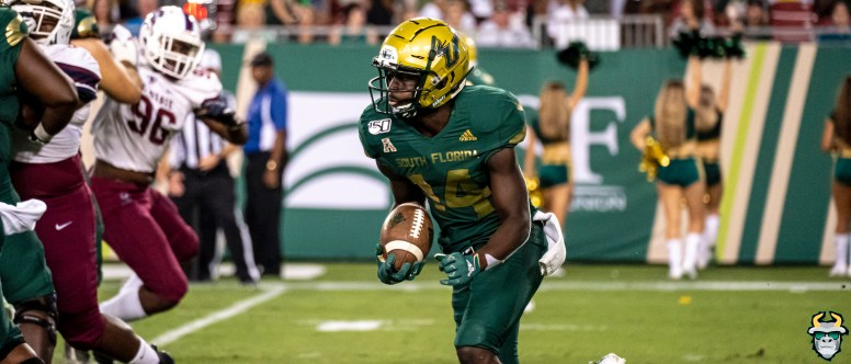 94 - USF vs S.C. State 2019 - Jah'Quez Evans by David Gold DRG01464