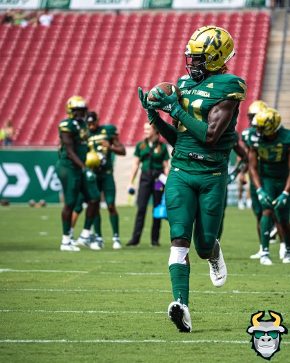 34 - SMU vs. USF 2019 - Kevin Purlett by David Gold - DRG00085