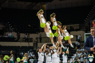 12 - Boston College vs South Florida Men's Basketball 2019 - Co-Ed Cheerleaders by David Gold - DRG07969