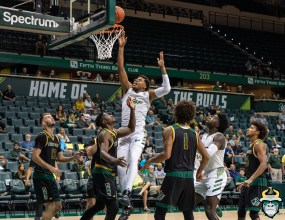 2 - St. Leo vs South Florida Men's Basketball 2019 - Michael Durr by David Gold - DRG02436