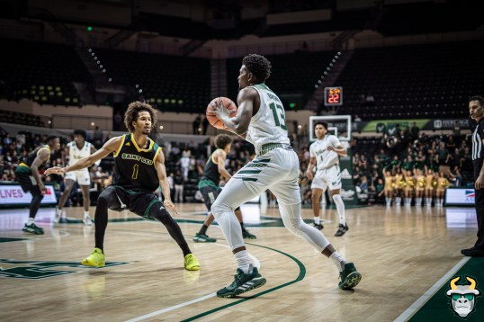 31 - St. Leo vs South Florida Men's Basketball 2019 - Justin Brown by David Gold - DRG03223