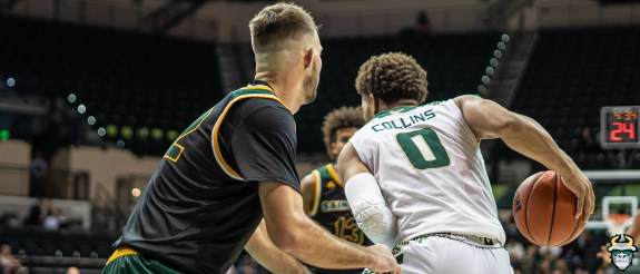 35 - St. Leo vs South Florida Men's Basketball 2019 - David Collins by David Gold - DRG03325