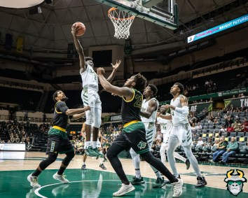 7 - St. Leo vs South Florida Men's Basketball 2019 - Ezacuras Dawson by David Gold - DRG02661