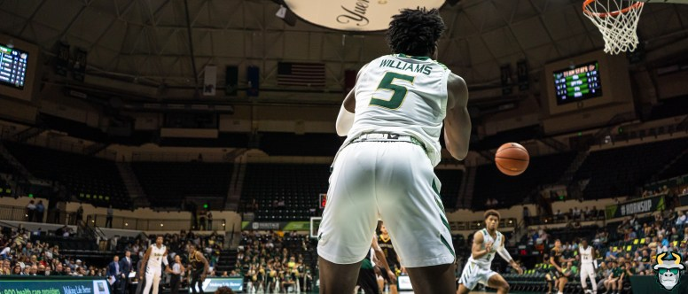 8 - St. Leo vs South Florida Men's Basketball 2019 - Rashun Williams by David Gold - DRG02698