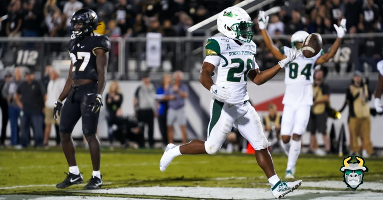 South Florida RB Johnny Ford's one yard touchdown run vs. UCF 2019