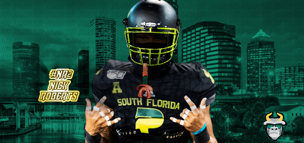#NR2 USF DB Nick Roberts 2019 Highlights | SoFloBulls.com