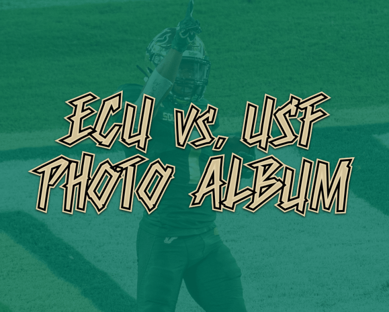ECU vs. USF Football 2020 Photo Album
