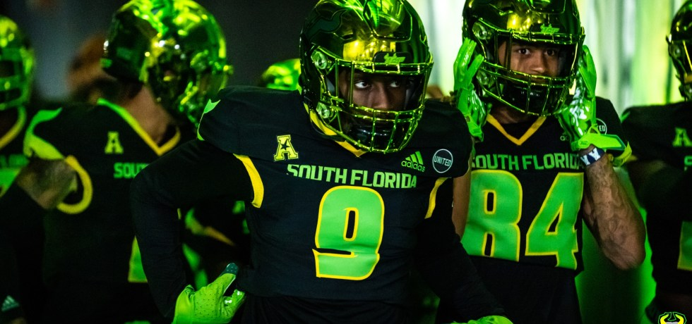 USF DB KJ Sails in So Flo Uniforms vs. Tulsa 2020